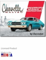 """Chevelle Malibu 350\"" Tin Sign"