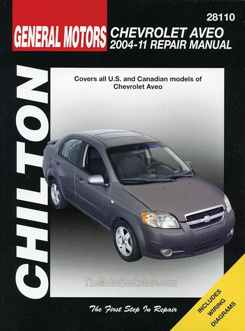 chevy aveo repair manual 2004 2011 by chilton rh themotorbookstore com Parts Manual Downloadable Online Chevrolet Repair Manuals
