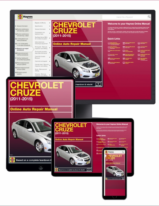 Chevrolet Cruze Online Service Manual, 2011-2015