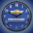 Chevrolet Performance Wall Clock, LED Lighted
