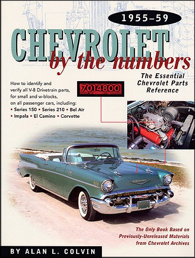 Chevrolet by the numbers 1955 1959 chevy v8 drivetrain casting chevy by the numbers 1955 1959 chevy v8 drivetrain casting part numbers sciox Image collections