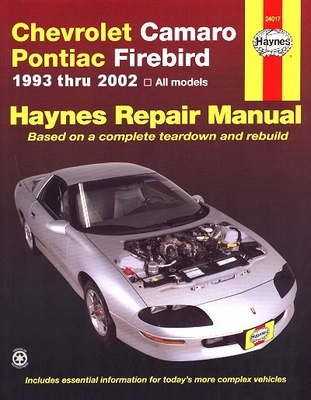 trans am firebird service manual low online prices rh themotorbookstore com 1985 Chevy Camaro 1972 Chevy Camaro