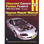 Chevy Camaro, Pontiac Firebird Repair Manual 1993-2002
