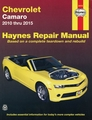 Chevy Camaro Repair Manual: 2010-2015