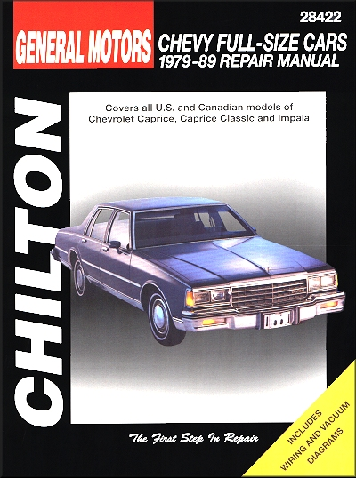 1984 chevrolet caprice haynes manual how to and user guide rh taxibermuda co Chevrolet Caprice PPV Engine Chevy Caprice Brougham