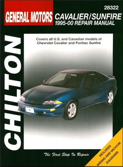 chevy cavalier pontiac sunfire repair manual 1995 2000 chilton rh themotorbookstore com Pontiac Sunfire Repair Manual 2000 Pontiac Sunfire Problems