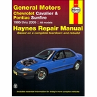 Chevy Cavalier, Pontiac Sunfire Repair Manual 1995-2005