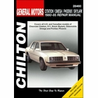 Chevy Citation, X11, Buick Skylark, Olds Omega, Pontiac Phoenix Repair Manual 1980-1985
