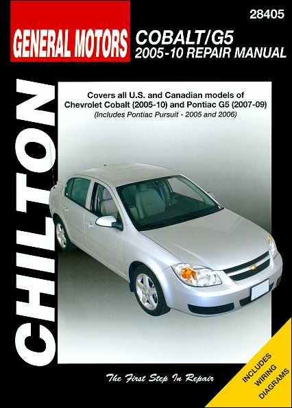 Chevy Cobalt, Pontiac G5 2005-2010 Repair Manual