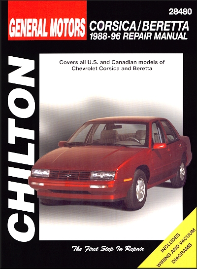 Chevy Corsica, Beretta Repair Manual 1988-1996