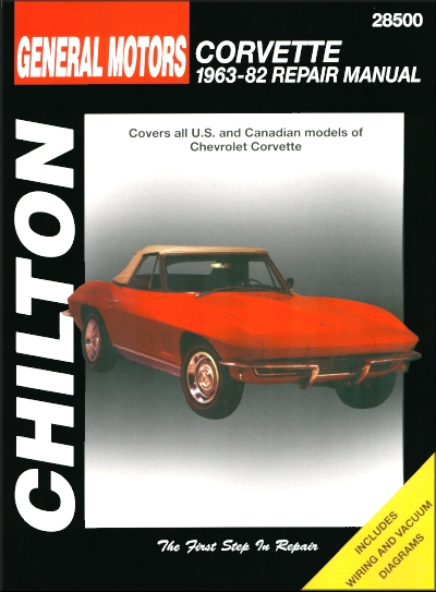 chevy corvette stingray repair manual 1963 1982 rh themotorbookstore com