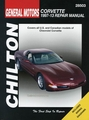 Chevy Corvette Repair Manual: 1997-2013