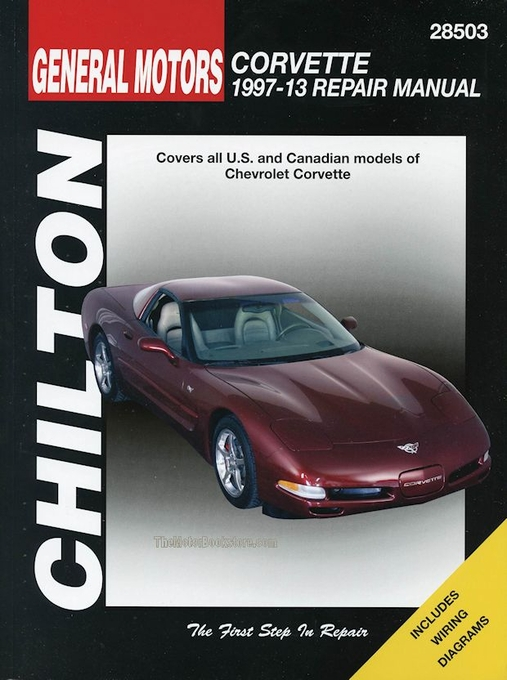 chevrolet corvette service repair manual 1997 2013 by chilton rh themotorbookstore com C5 Corvette Starter Replacement 2000 corvette shop manual