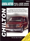 Chevy, GMC Full-Size Van Repair Manual 1987-1997