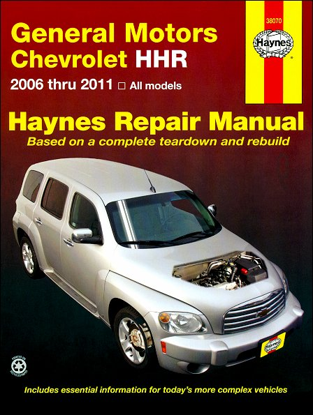 chevy hhr repair service manual 2006 2011 haynes 38070 rh themotorbookstore com Chilton Repair Manuals Ford Chilton Repair Manuals PDF
