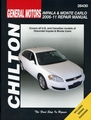 Chevy Impala, Monte Carlo Repair Manual 2006-2011