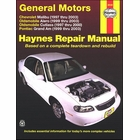 Chevy Malibu, Olds Alero, Cutlass, Pontiac Grand Am Repair Manual 1997-2003