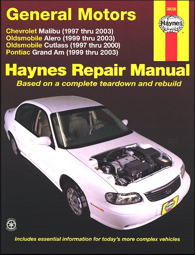 malibu alero cutlass grand am repair manual 1997 2003 haynes rh themotorbookstore com 2000 pontiac grand am owners manual online 2000 pontiac grand am service manual pdf