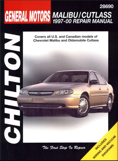 chevy malibu oldsmobile cutlass repair manual 1997 2000 chilton rh themotorbookstore com 2000 Oldsmobile Cutlass 1990 Oldsmobile Cars