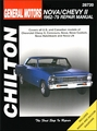 Chevy Nova, Chevy II Repair Manual 1962-1979
