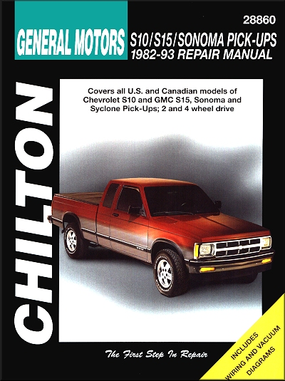 gmc sonoma pickup repair manual best setting instruction guide u2022 rh ourk9 co 2002 Chevy S10 4x4 Chevrolet S10 Trucks by Owner