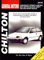 Chevy Sprint, Geo Metro, Suzuki Swift Repair Manual 1985-2000