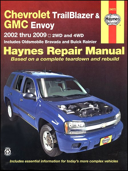 trailblazer ext envoy xl bravada oainier repair manual 2002 2009 rh themotorbookstore com 2004 Buick Rainier Interior 2004 buick rainier service manual