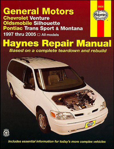 venture silhouette trans sport montana repair manual 1997 2005 rh themotorbookstore com 2002 oldsmobile silhouette owner's manual download 2000 oldsmobile silhouette owners manual