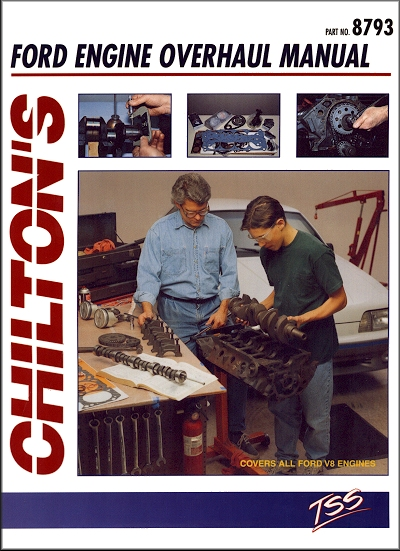 ford engine overhaul manual by chilton all v8 engines rh themotorbookstore com Banshee Engine Overhaul Tractor Engine Overhaul Kits