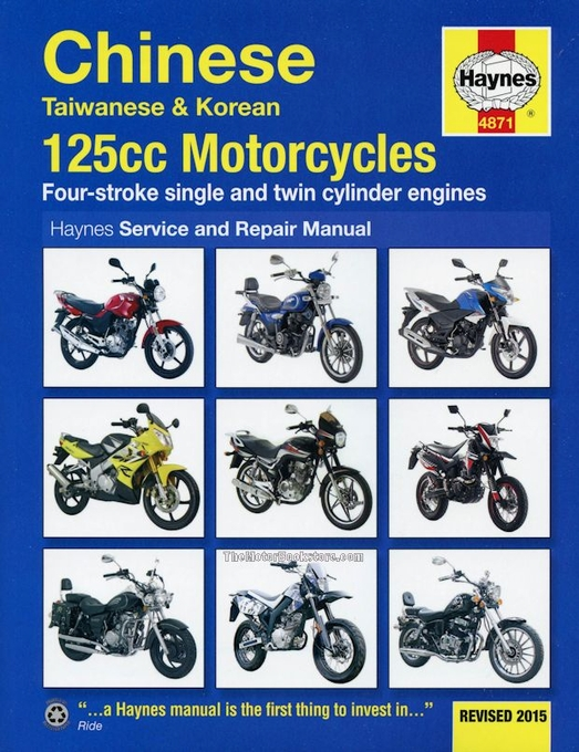 Chinese taiwanese and korean motorcycle repair manual 125cc chinese taiwanese korean 125cc motorcycles repair manual 2005 2015 cheapraybanclubmaster Choice Image