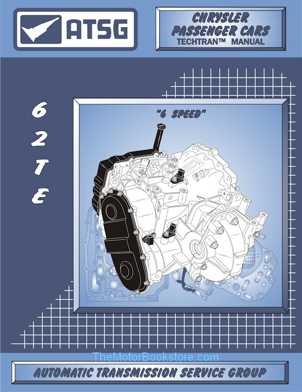 Chrysler, Dodge 62TE Transmission Rebuild Manual 2007 & Up | ATSG