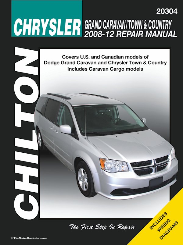 dodge caravan chrysler town country 2008 2012 repair manual. Black Bedroom Furniture Sets. Home Design Ideas