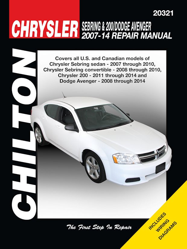 chrysler sebring 200 dodge avenger repair manual 2007 2014 chilton rh themotorbookstore com 1998 dodge ram service manual 1998 dodge ram service manual