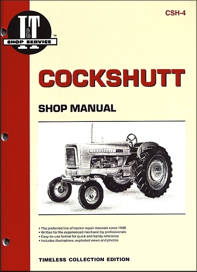 Cockshutt Repair Manual 540, 550, 560, 570