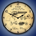 Colt Peacemaker Patent Wall Clock, LED Lighted