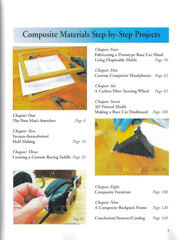 Composite Materials Step By Step Projects John Wanberg Wp336