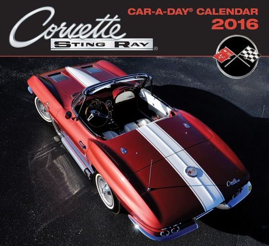 Corvette Car-a-Day Calendar 2016