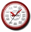 Corvette Cars Neon Clock, High Quality