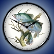 Crappies Wall Clock, LED Lighted