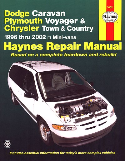 dodge caravan voyager town country 1996 2002 repair manual rh themotorbookstore com 2010 chrysler town and country repair manual pdf 2011 chrysler town and country repair manual pdf