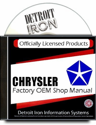 Dodge Factory Service Manuals on 1941-1981 CD-ROM