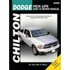 Dodge Ram Pickup Repair Manual 2009-2016
