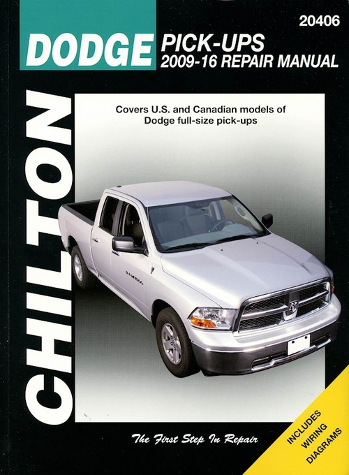 dodge ram repair manual 2009 2016 chilton diy service manual. Black Bedroom Furniture Sets. Home Design Ideas