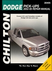 Dodge Ram Pickup Trucks Repair Manual 2002-2008