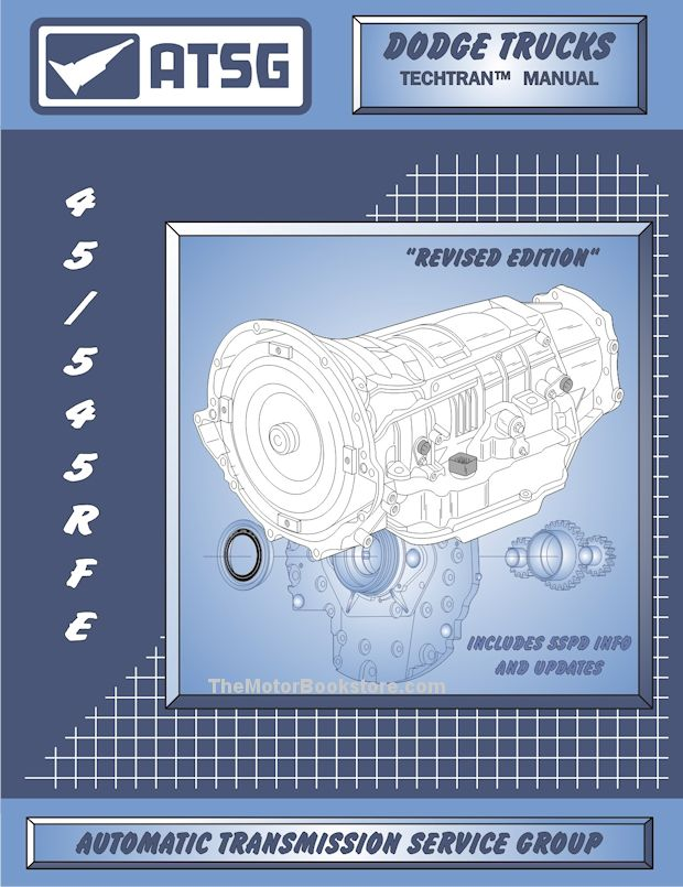 Dodge Trucks, Jeep 45RFE / 545RFE Transmission Rebuild Manual 1999-2011