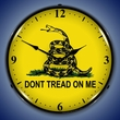 Don�t Tread On Me Wall Clock, LED Lighted