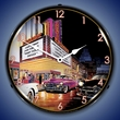 Esquire Theatre Wall Clocks, Lighted: Bruce Kaiser