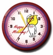 Esso Happy Motoring Gas Station Neon Clock: High Quality, 20 Inches