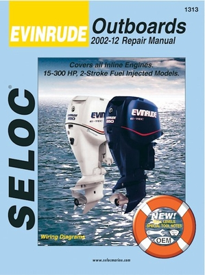 evinrude 40-300 hp, 2-stroke, fuel-injected outboards repair manual