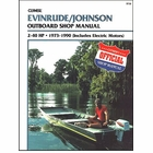 Evinrude Johnson Outboard 2-40 HP Repair Manual 1973-1990